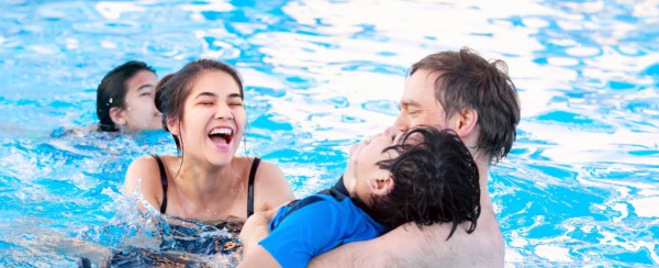 Bigstock Multiracial Family Swimming Cropped